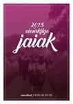 Cartel de Fiestas de Andra Mari de Zizurkil 2018