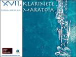 Cartel del Klarinete Maratoia de Zumaia 2018