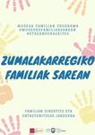 Ormaiztegiko Zumalakarregi Museoko Familiak Sareanen kartela 2020