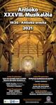 Zumarragako Antioko Musikaldiaren kartela 2021