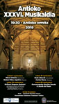 Zumarragako Antioko Musikaldiaren kartela 2019