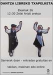 Cartel del Concurso de Baile al Suelto de Adultas/os de Zumarraga 2021