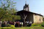 Imagen 2 de la galería de Santa Engrazi. Bendición del agua y de las semillas
