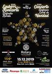 Cartel del Concierto Extraordinario de Navidad de Irun 2019