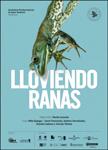 """Cartel de la obra """"Lloviendo Ranas"""""""