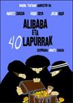 """Cartel de la obra """"Ali Baba eta 40 lapurrak"""""""
