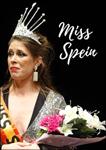 "Cartel de la obra ""Miss Spein"""