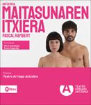 """Cartel de la obra """"Maitasunaren itxiera"""""""
