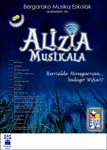 """Cartel del espectáculo """"Alizia Musikala"""""""