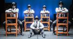 """Momento de la obra """"Black Blues Brothers"""""""