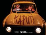 """Cartel de la obra """"Kaput"""""""