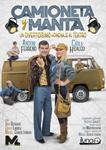 """Cartel de la obra """"Camioneta y manta"""""""