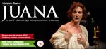 """""""Juana la loca. La reina que no quiso reinar"""" antzezlanaren kartela"""