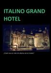 """""""Italino Grand Hotel"""" antzezlanaren kartela"""