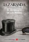 """""""El desguace de las musas"""" antzezlanaren kartela"""