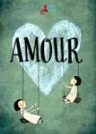 """Cartel de la obra """"Amour"""""""