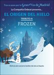 """Cartel del espectáculo """"El origen del Hielo. Tributo a Frozen"""""""