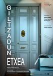 """Cartel de la obra """"Giltzadun etxea"""""""