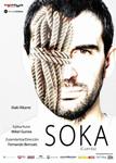 """Cartel de la obra """"Soka"""""""