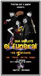 """Cartel de la obra """"El Funeral"""""""