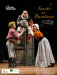 """Cartel de la obra """"Sancho en Barataria"""""""