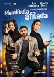 """Cartel de la obra """"Mandíbula afilada"""""""