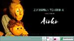 """Cartel de la obra """"Aioko"""""""