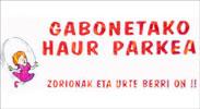Gabonetako Haur Parkearen kartela