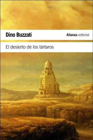 """Portada del libro """"El desierto de los tártaros"""""""