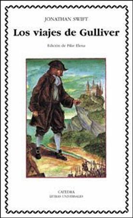 """Portada del libro """"Los viajes de Gulliver"""""""