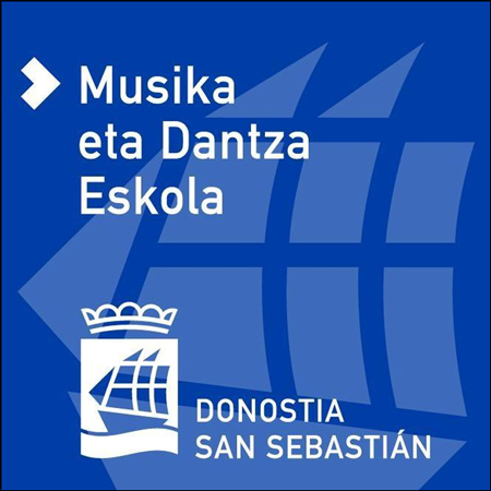 Donostiako Udalaren Musika eta Dantza Eskolaren logoa