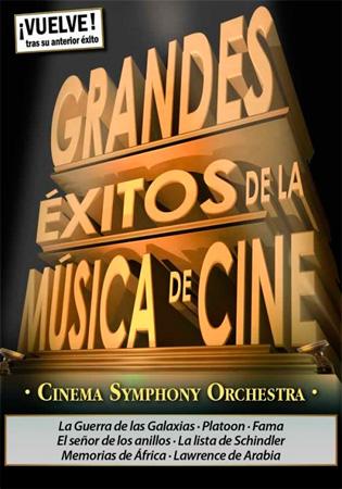 """Grandes �xitos de la M�sica de Cine"" kontzertuaren kartela"