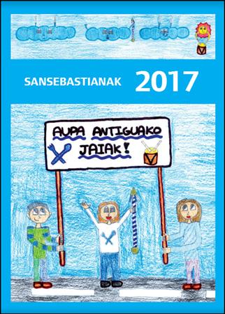 Donostiako Antiguako San Sebastian Jaietako Egitarauaren kartela 2017