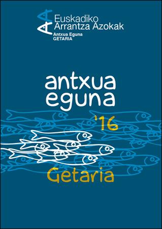 """Getariako """"Antxua Egunaren"""" kartela 2016"""