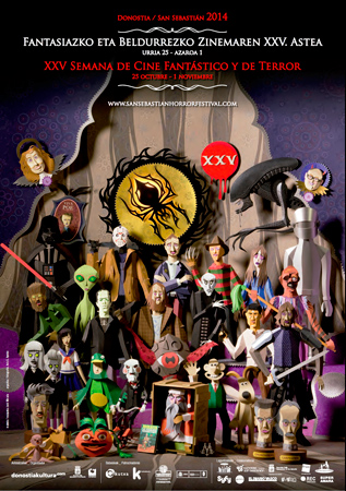 Cartel de la Semana de Cine Fant�stico y de Terror de Donostia 2014