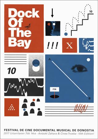 Donostiako Dock of The Bay Erakustaldiaren kartela 2017