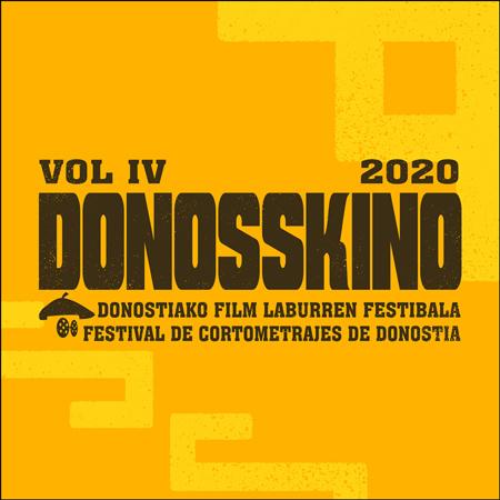 Cartel del Festival Donosskino 2020