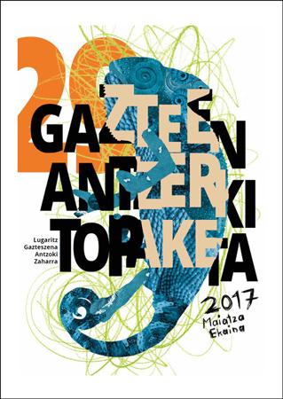 Donostiako Gazteen Antzerki Topaketaren kartela 2017