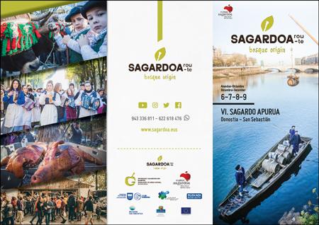 Cartel del Sagardo Apurua de Donostia 2019