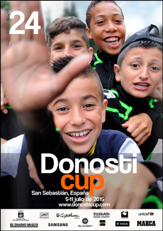 Donosti Cup-en kartela 2015