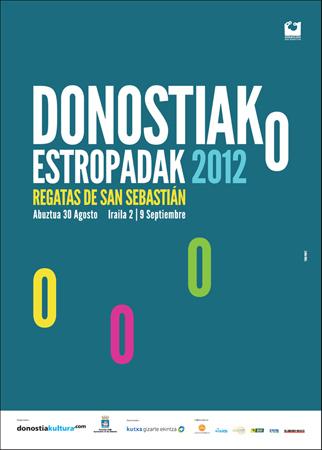 Cartel de la Bandera de la Concha de Donostia 2012