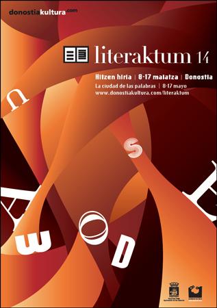 Cartel de Literaktum 2014