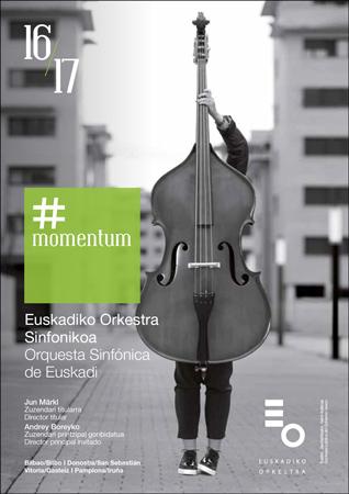 Euskadiko Orkestra Sinfonikoaren 2016-2017 Abonu-Denboraldiaren kartela
