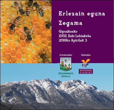 Zegamako Erlezain Egunaren kartela 2016