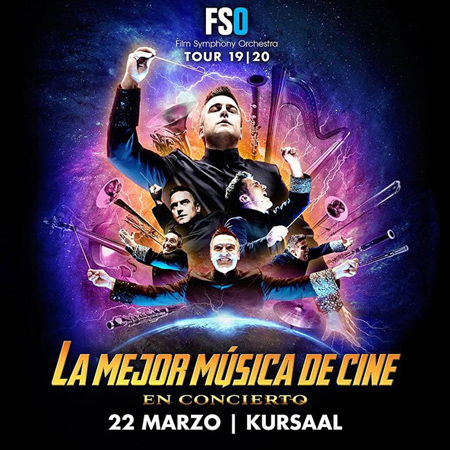 Cartel del concierto de Film Symphony Orchestra