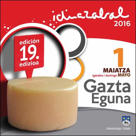 Idiazabalgo Gazta Egunaren Kartela 2016