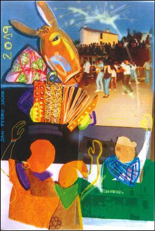 Cartel de las fiestas de San Pedro de Igeldo 2019