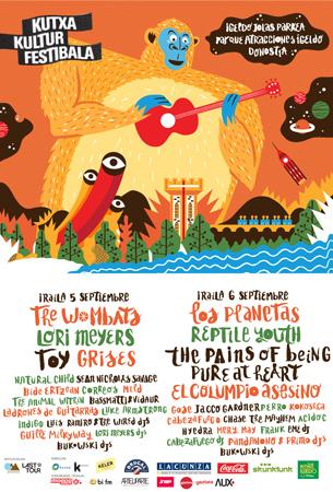 Donostiako Kutxa Kultur Festibala 2014