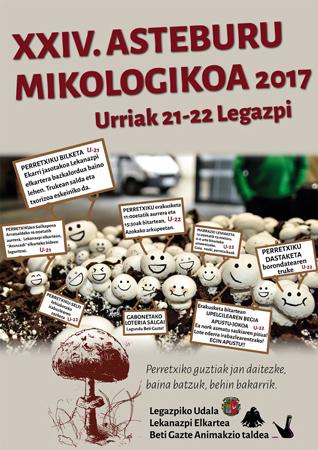 Cartel de la Semana Micológica