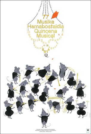 Cartel de la Quincena Musical de Donostia 2016